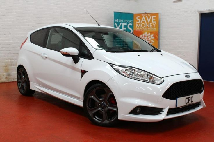 2013 ford fiesta 1.6 st 2 mountune mp215, frozen white, fmdsh, stunning!