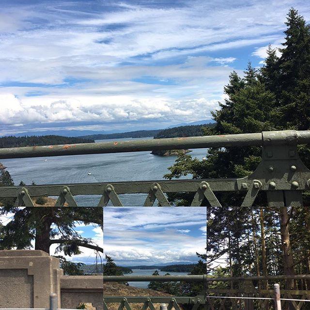 【rosejamlushie】さんのInstagramをピンしています。 《#deceptionpassbridge #seaandforrest #spoiledcamping #hiking  #deceptionpass #statepark #deceptionpassstatepark #deceptionpassbridge #sunset #camping #summer #trees #sunsetoverwater #bluesky #pnw #collage #ディセプションパス州立公園 #ハイキング #橋 #キャンプ #夏 #2016 #ワシントン州 #青空 #森林浴 #森林 #太陽 #太平洋岸北西部》