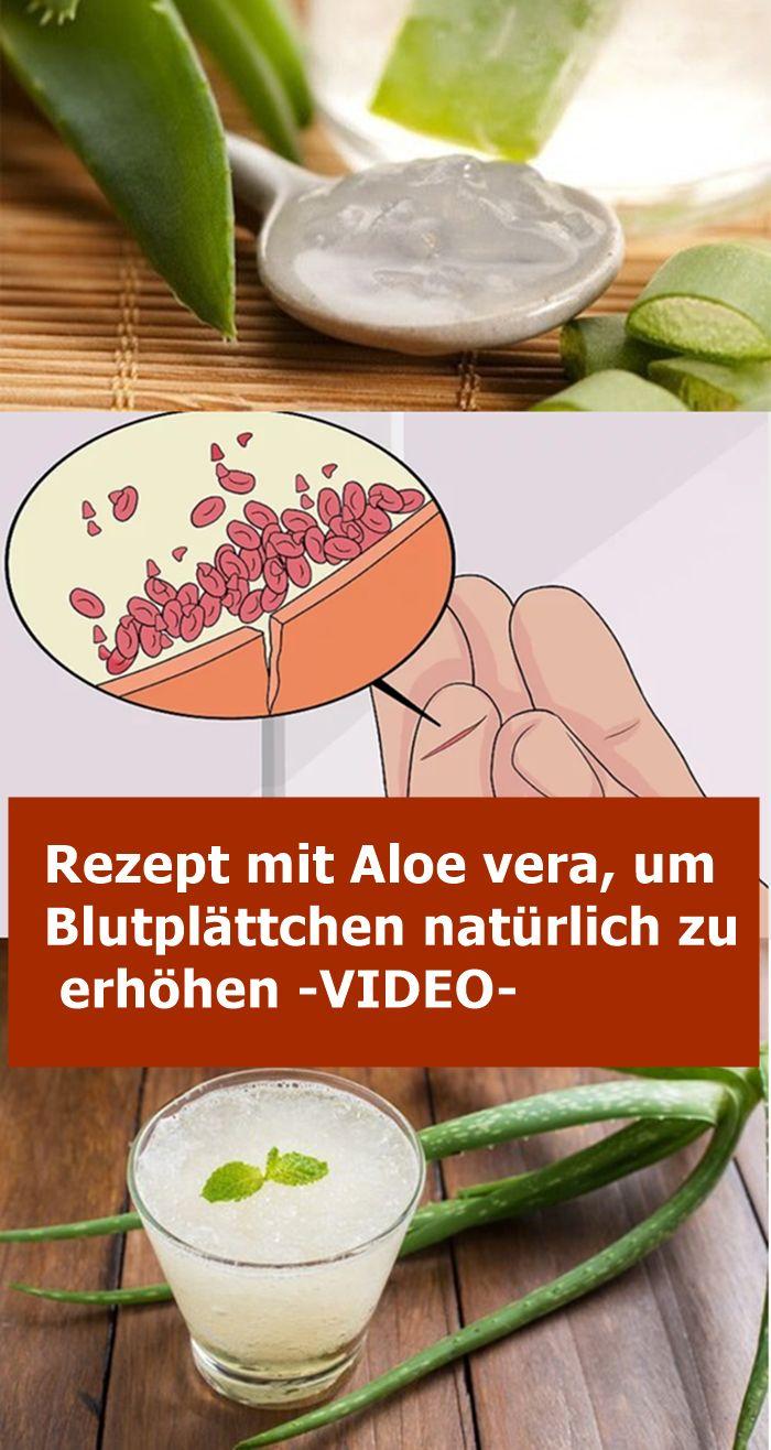 Rezept mit Aloe vera, um Blutplättchen natürlich zu erhöhen -VIDEO- | njuskam…