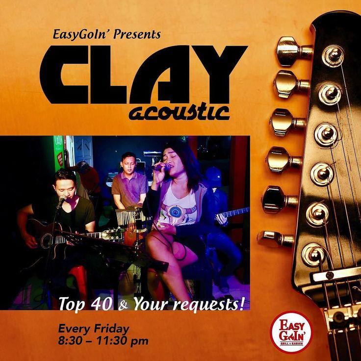 Wanna eat and drink while listening to some great music  @clayacoustic plays Top 40 and Indonesian hits every Friday from 8:30 pm at Easygoin' Grill & Garden They take your requests or you can grab the mic and sing your favorite song.  BEER PROMO  All large beers only Rp 39k (incl. tax) Beer towers Rp 150k (incl. tax) All night long during March!  #konserjogja #jogjakonser #livemusicjogja #jogjalivemusic #jogjanightlife #cafejogja #jogjacafe #hangoutjogja #jogjahangout #nongkrongjogja…