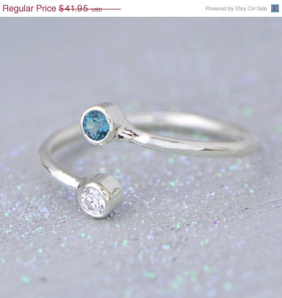 BLACK FRIDAY SALE London Blue Topaz Ring  by TheJewelryGirlsPlace