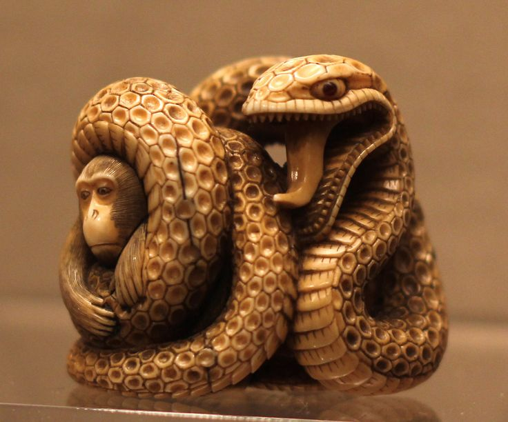 Netsuke from the Asian Art Museum in San Francisco