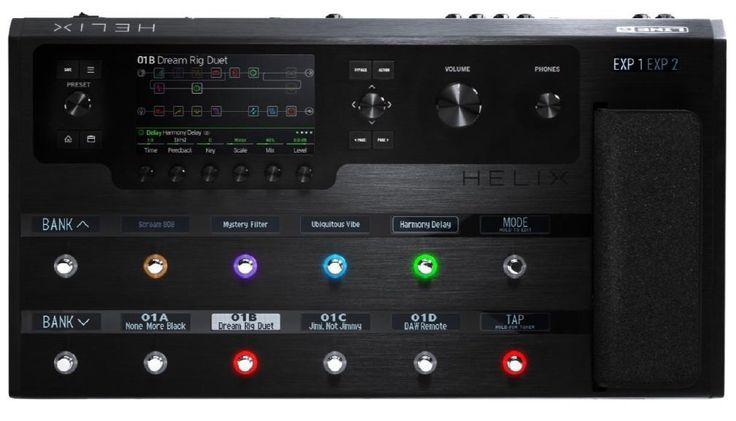 Line 6 Helix.  This multi effects processor came out on top of GuitarSite.com's 2016 roundup of the best Multi-Effects Pedals.