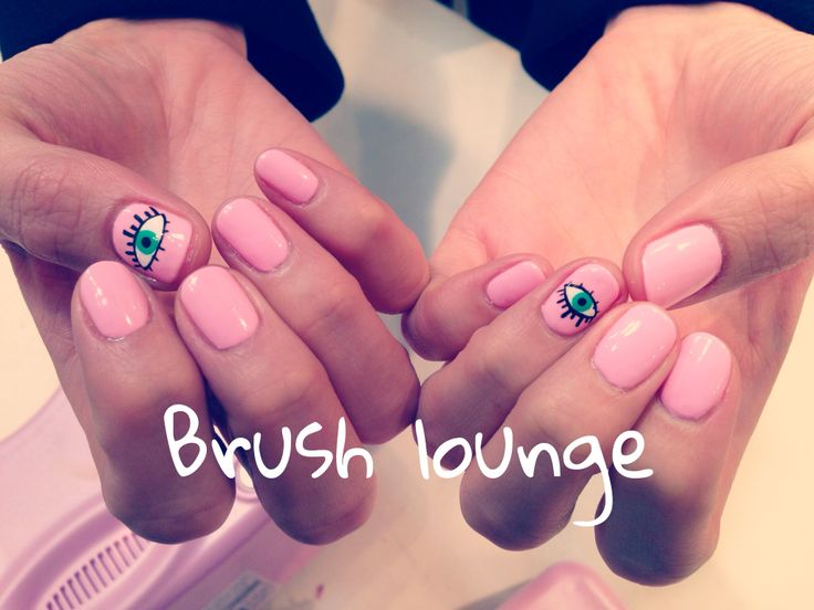 #brush lounge# nail# nail art# songdo## eye nail
