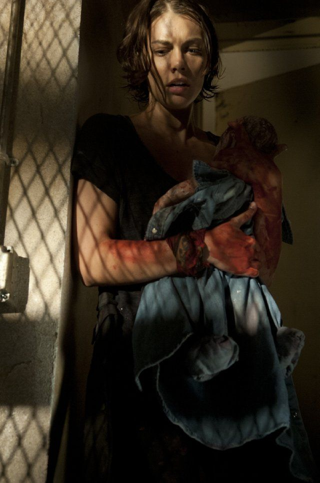 Lauren Cohan in The Walking Dead - Season 1 and 2 are available on Blu-ray and DVD now.