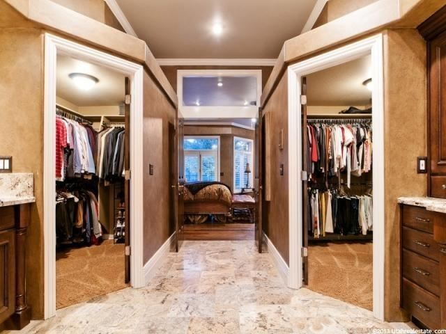 His and her closets home is where the heart is for His and hers wardrobe