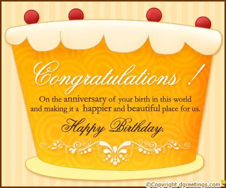 Dgreetings - Birthday Congratulations Card