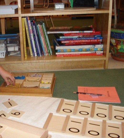 Well made learning materials are a core part of the the Monetssori teaching method. Students are taught how to use the materials and practice at their own pace which encourages concentration learning that is retained.