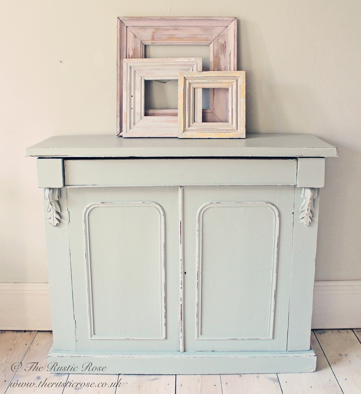 Best Rustic Chiffonier Painted In Farrow Ball French Grey 640 x 480