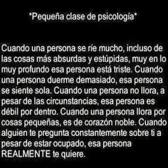 Clase de psicología