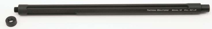 "Ruger 10/22 Threaded 16.5"" Fluted Bull Barrel"