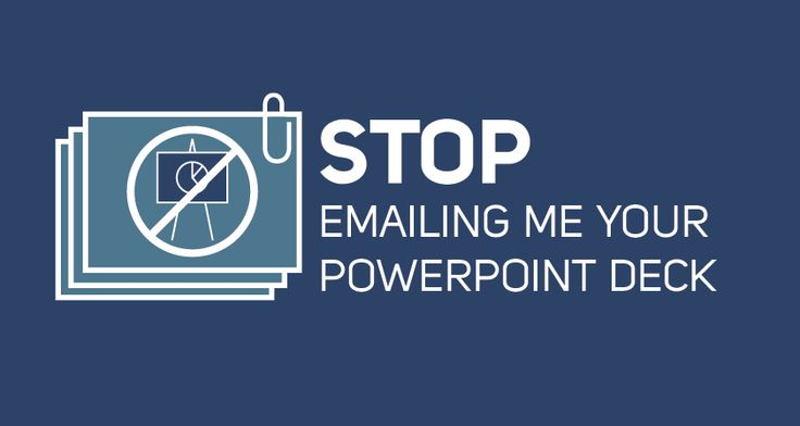 Brian Cuttica, Director of Marketing & SMB Sales at PointDrive tells us why he hates to receive emails after a meeting with the PowerPoint Deck attached.
