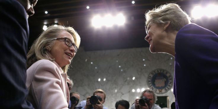 Hillary Clinton Praises 'Progressive Champion' Elizabeth Warren