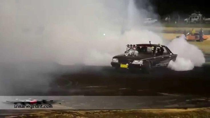 Дрифт Шевроле Камино и прожиг резины. Amazing Drift Burnout Chevrolet Ca...