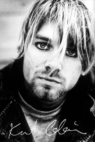 Kurt Cobain Signature Posters at AllPosters.com
