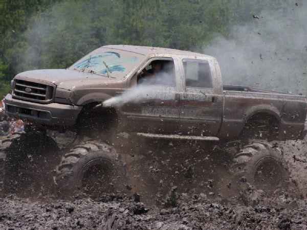 Mud Trucks Gone Wild | Ford Mud Truck 2