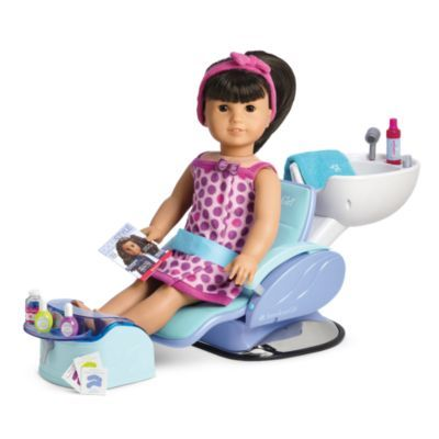 Spa Chair | dollcareproduct | American Girl Gracie $110