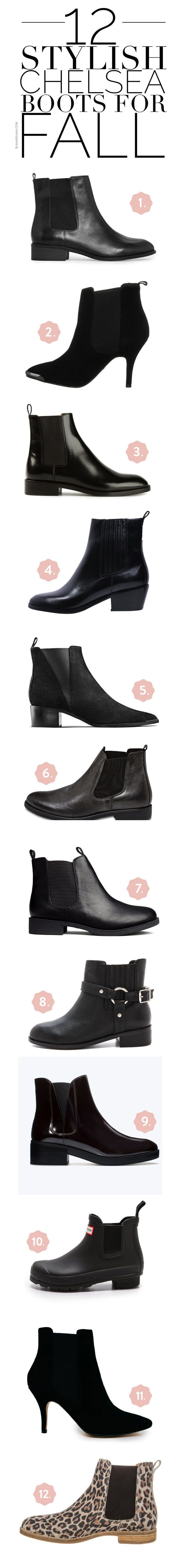 ~12 Stylish Chelsea Boots for Fall | The House of Beccaria