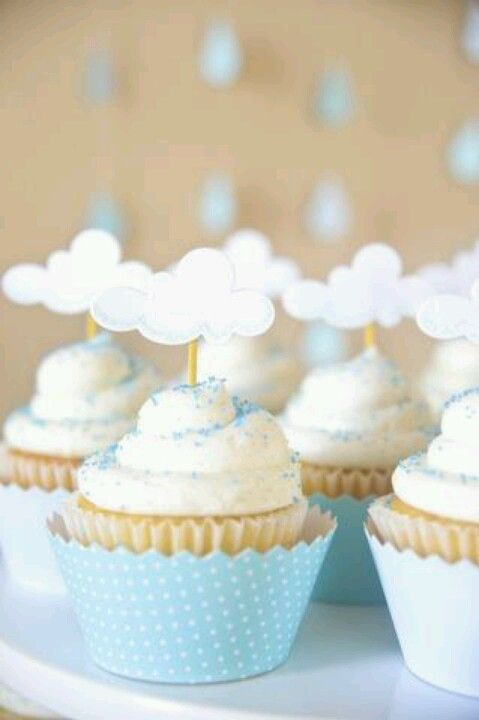 Heavenly themed baby shower