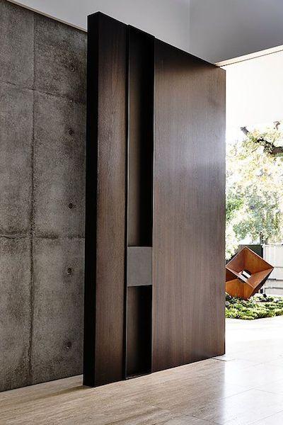 59 best modern barn door images on pinterest doors - Puertas modernas de interior ...