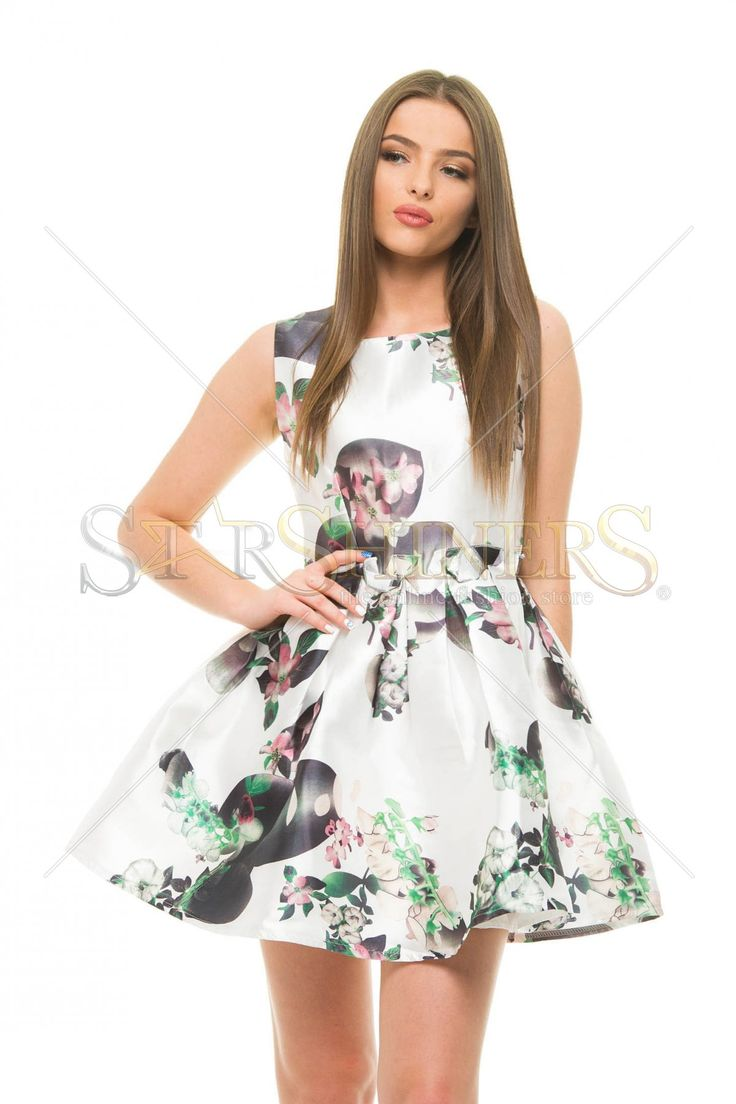 Fashion Personality White Dress