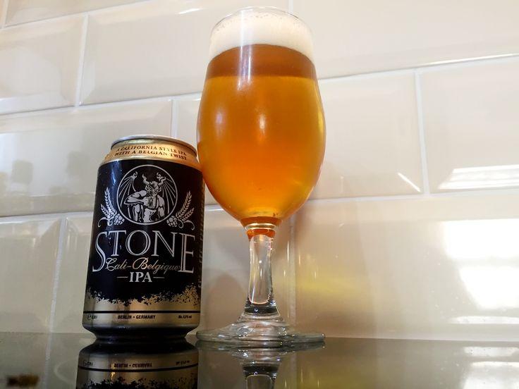 Stone's Cali-Belgique IPA