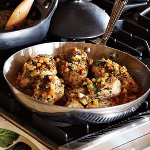 Chicken Breasts with Glazed Root Vegetables | Williams-Sonoma
