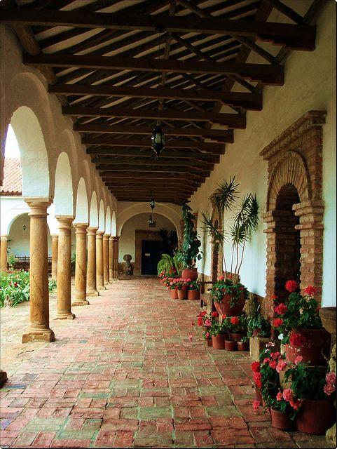 Convento Ecce Homo Villa de Leyva Colombia by pcerisolafernandez, via Flickr