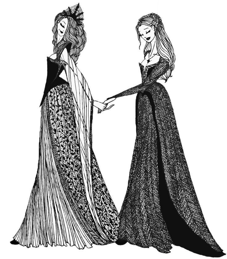 Margaery and Sansa by cabins.deviantart.com on @deviantART #got #asoiaf