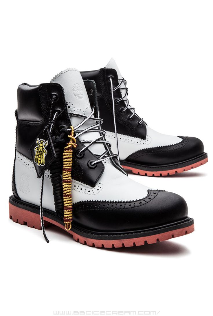 Women's Timberland x Beeline Brouges in black and white by Pharrell  Williams 2014 · Timberlands For MenTimberland ShoeBoy ...
