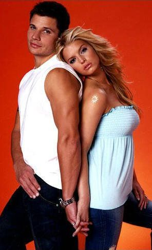 Jessica Simpson and Nick Lachey....OMG they were my favorite my celebrity couple :(