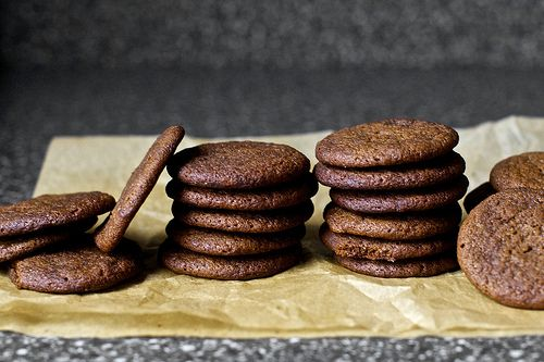 Classic Gingersnap Cookies.