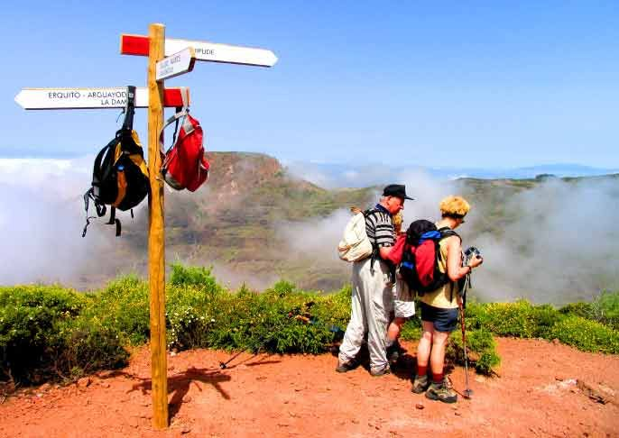 Excellent walking opportunities on the island of La Gomera