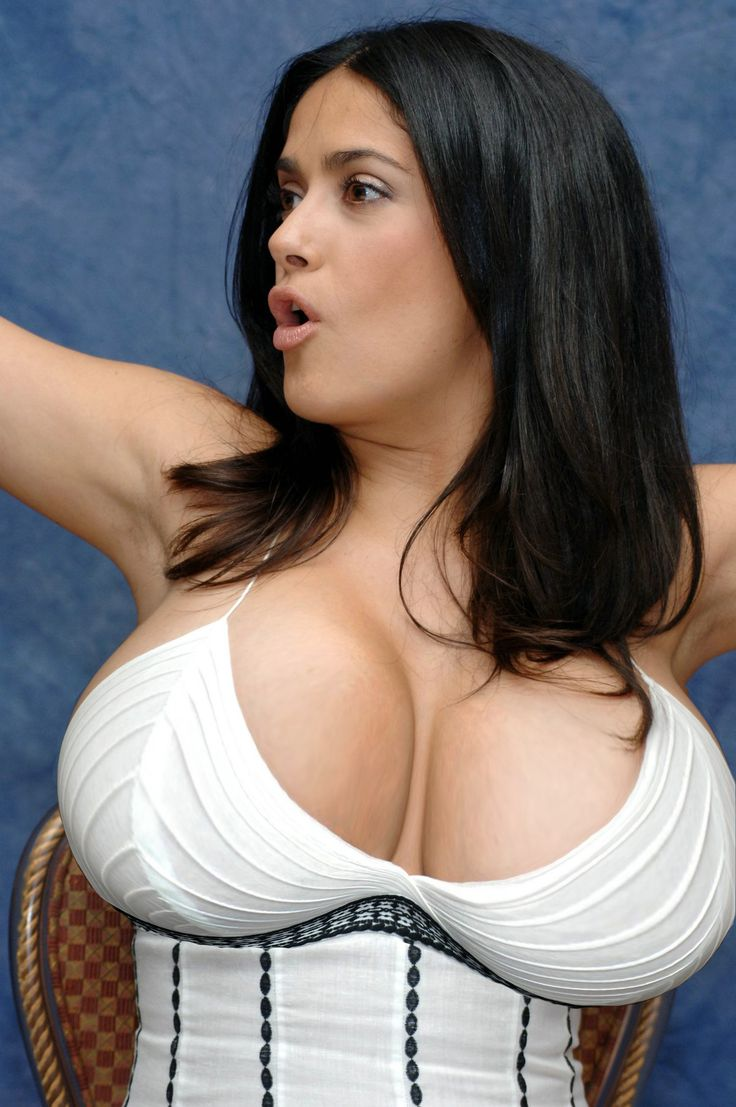 Sexy boobs of salma hayek cell
