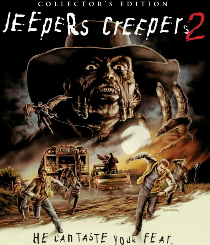 Jeepers creepers 2 horror movie poster Collector edition