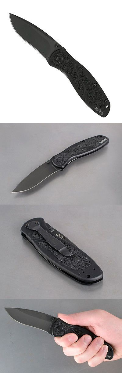 Other Hunting Knives and Tools 7306: Kershaw 1670Blk Ken Onion Design Blur Folding Knife With Speedsafe (Box) -> BUY IT NOW ONLY: $56.75 on eBay!