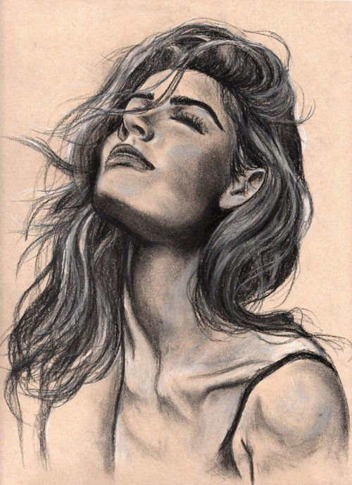 #illustration #art #charcoal