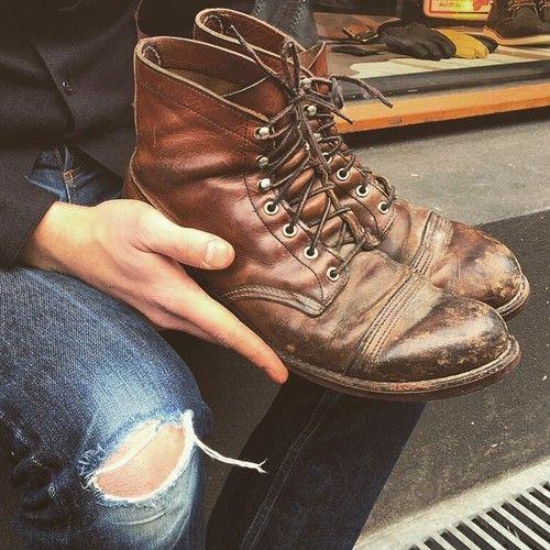 Redwing 8111 Iron Ranger Boots Amp Shoes Pinterest