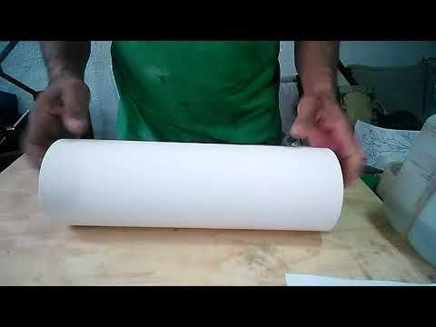 Transferir imágenes al tubo de PVC. - YouTube