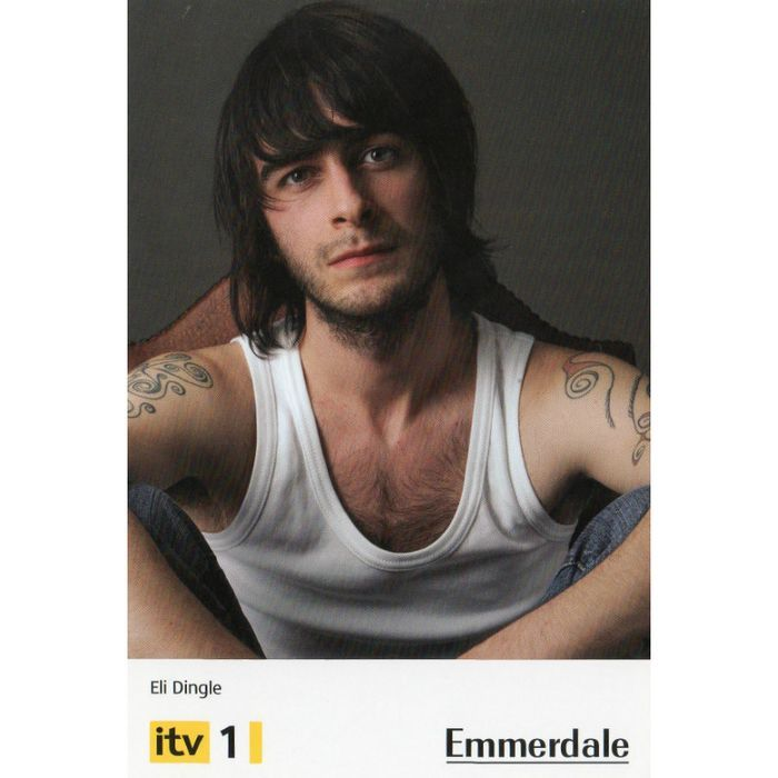 Cast card - Emmerdale - Eli Dingle - Unsigned. O Listing in the Actors & Actresses,People,Postcards,Collectables Category on eBid United Kingdom | 136706189