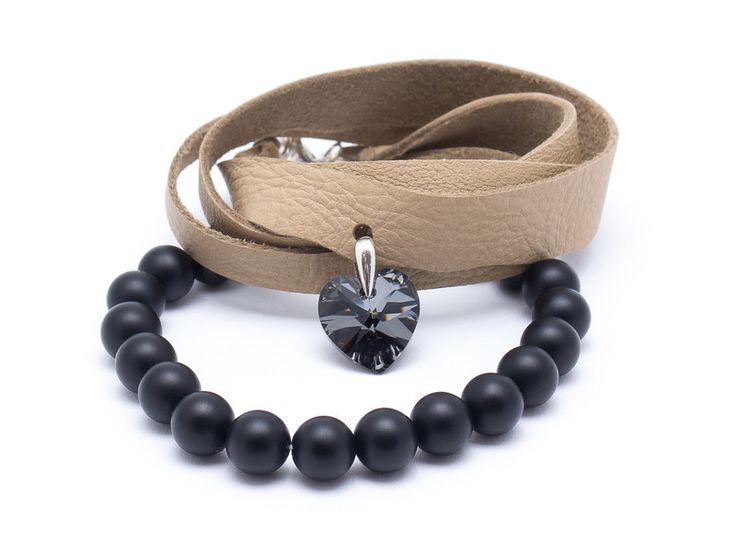 Wristbands & Bracelets – Set 2 bracelets ON 989 – a unique product by Blackif on DaWanda