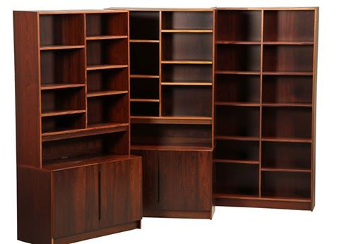 Rosewood Shelving Cabinet by Danish furniture producer