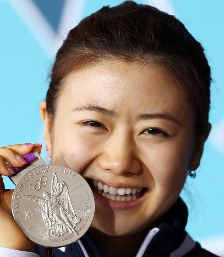 愛ちゃんが銀メダル