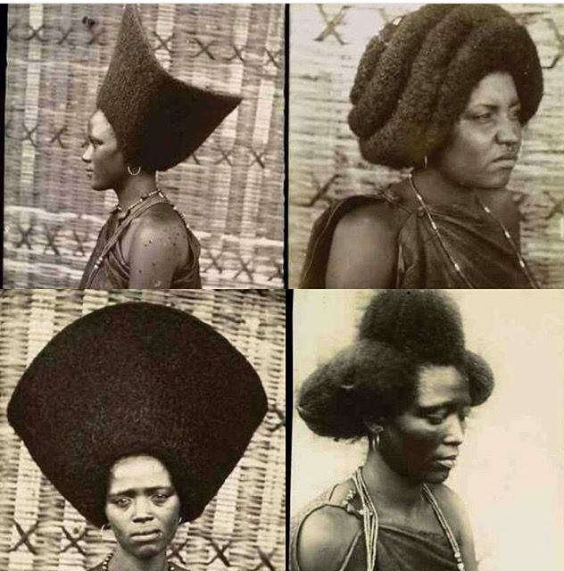 Vintage image of The Oromo people from Cameroon                                                                                                                                                                                 More