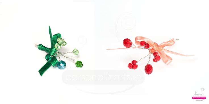"""""""Flower Bouquets"""" - delicate wire wrapped wedding favours"""