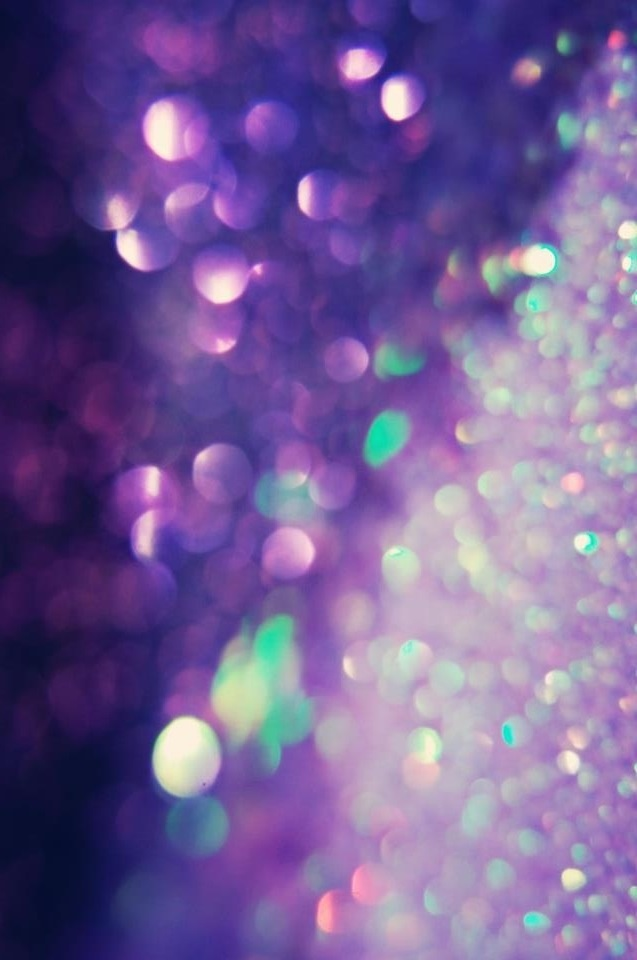 There's no such thing as too much glitter...