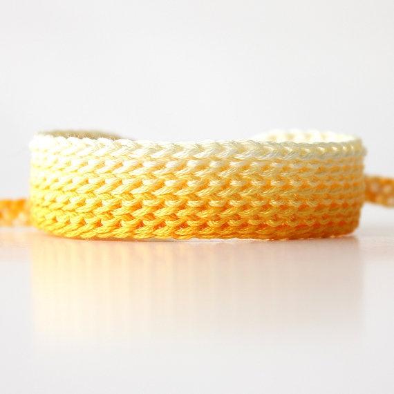 Ombre Crochet Friendship Bracelet