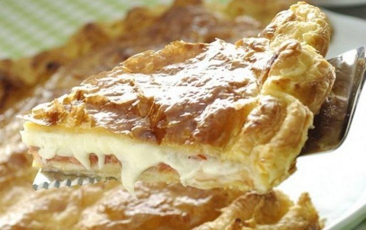 Σκεπαστή πίτα με τυριά κι αλλαντικά - Radio 0211   Radio 0211