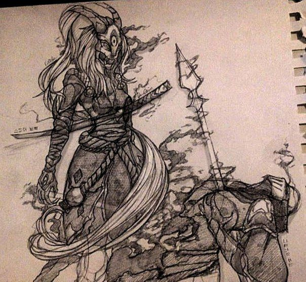 Kalista and Zed