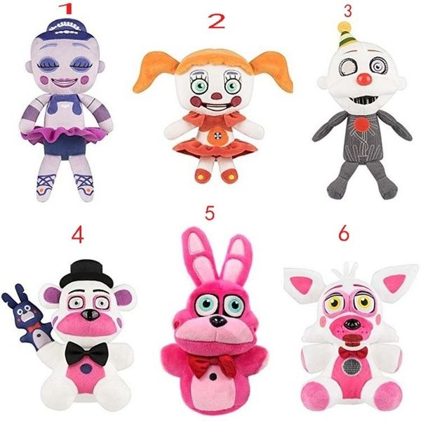 """New Ballora SISTER LOCATION Five Nights At Freddy/'s 8/"""" Plush Doll Toy Gift"""